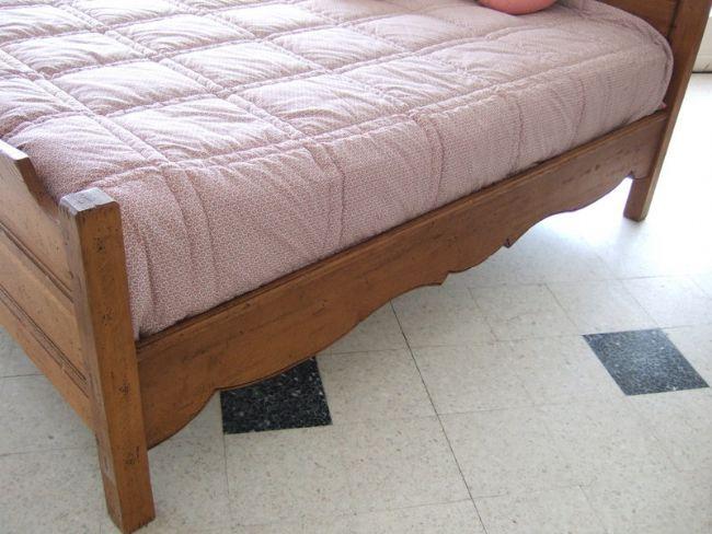 d stockage meuble lit 160 campagnard. Black Bedroom Furniture Sets. Home Design Ideas