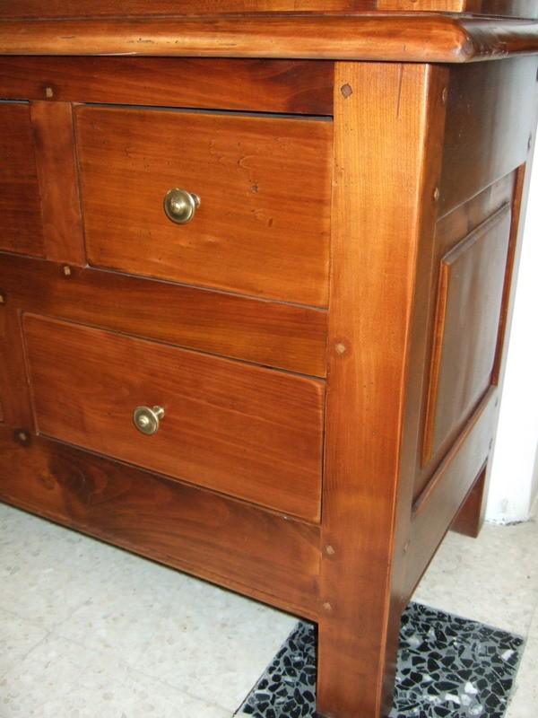 d stockage vitrine merisier. Black Bedroom Furniture Sets. Home Design Ideas